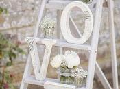 ideas para utilizar escaleras madera decoración boda