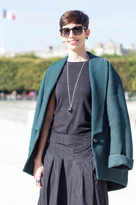 The Stylistbook - Lorena Vilanova at Paris Fashion Week