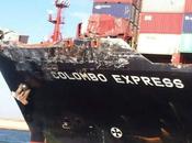 buques portacontenedores colisionan Canal Suez (vídeo)