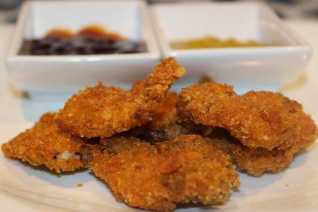Nuggets de pollo artesanales