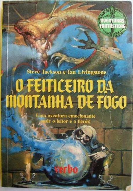Galería de portadas del Hechicero de la Montaña de Fuego(Diferentes paises)