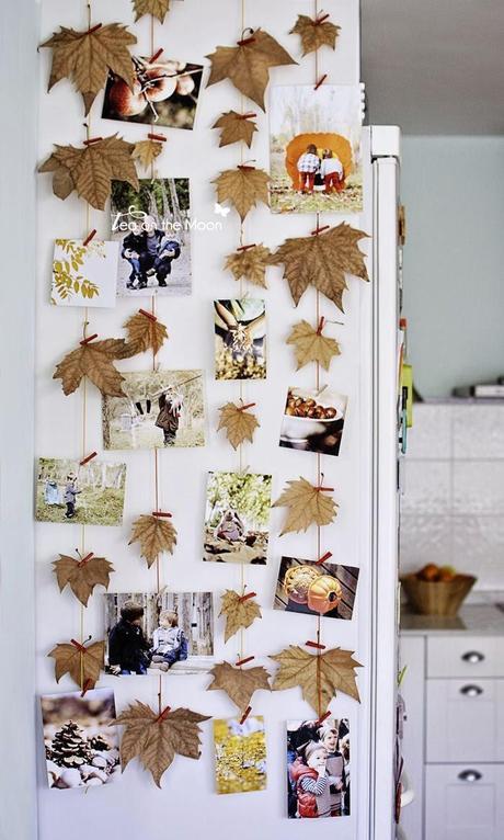 Miércoles de inspiración ♥ Decora con hojas secas