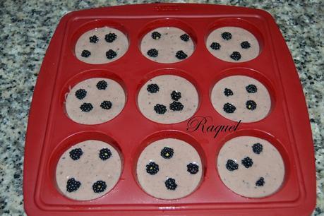 Muffins de Moras Silvestres