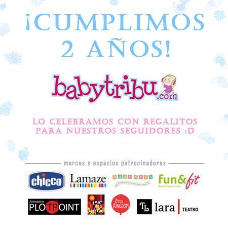 Daros las gracias a vosotros… feliz segundo aniversario Babytribu
