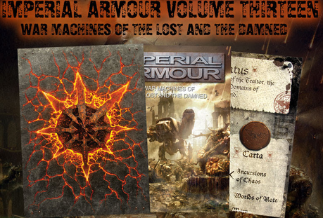 Imperial Armour Volume 13:War Machines of the Lost & the Damned a la vista
