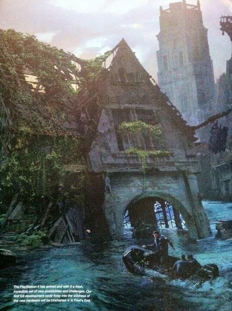 Primeras ilustraciones de Uncharted 4: A Thief's End