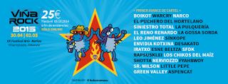 Primeros nombres del Viña Rock 2015: Boikot, Warcry, Siniestro Total, La Pulquería, SFDK, Iratxo, Shotta, Fyahbwoy...