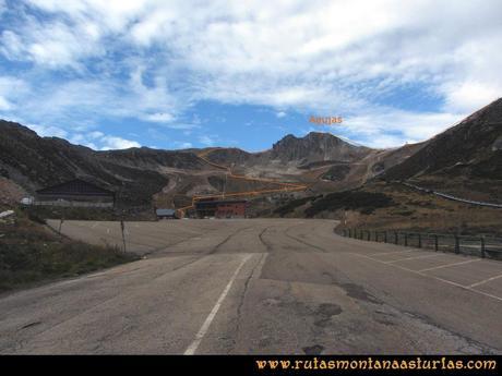 Ruta Agujas y Toneo: Camino de la estación al Agujas