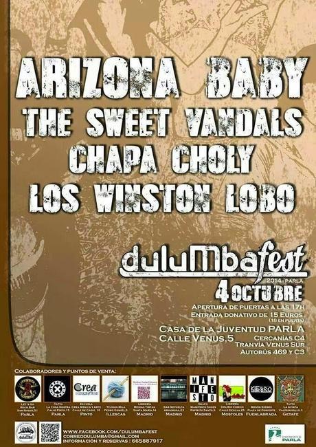 Cancelado el Dulumba Fest 2014