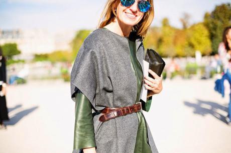 Actualidad: Paris Fashion Week street style,
