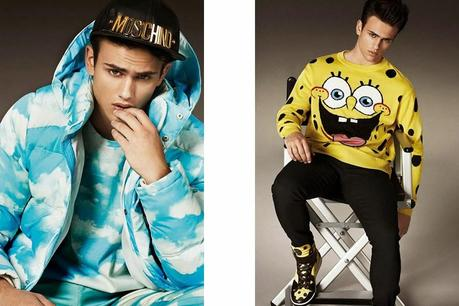 Sergio Carvajal para Moschino by Jeremy Scott