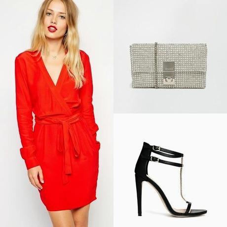 El conjunto del día: un vestido rojo