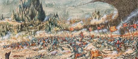 batalla cinco ejércitos