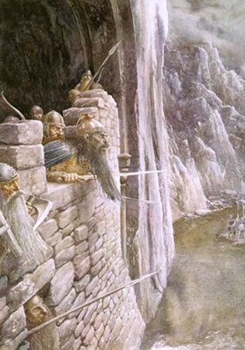 ilustraciones señor de los anillos