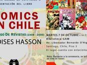 "Octubre será presentado libro ""Cómics Chile: Catálogo Revistas"""