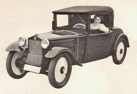 El primer auto de la DKW