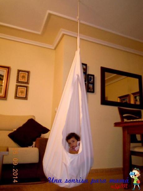 Retomes septiembre hamaca nido para ni os paperblog - Casas de tela para ninos ...
