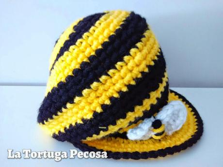 A LITTLE BEE IN THE HIVE HAT