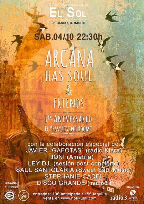 [Noticia] Arcana Has Soul, celebración a lo grande