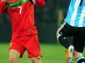 Messi Cristiano enfrentarán Manchester