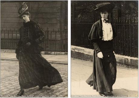 Street Style  Fotografía   Vintage by Lopez-Linares Edward-Linley-Sambourne-Carmen-Velarde (2)
