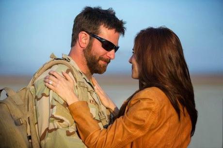 El cambio de Bradley Cooper en las primeras imágenes de 'American Sniper'