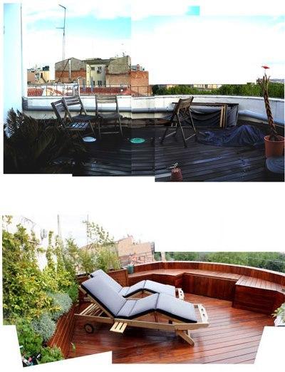 diseño de jardin en terraza 01 Paisajistas: ¿Cómo se hace un diseño para un jardín?