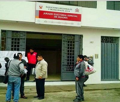 5 tenían condena vigente : JEE DE HUAURA EXCLUYE A NUEVE CANDIDATOS PARA COMICIOS DEL 05 DE OCTUBRE