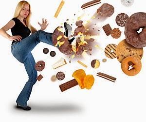 Dieta para bajar de rápido de peso y sin rebote