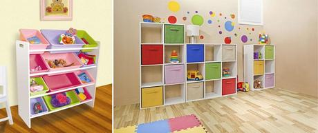 7 tips para organizar los juguetes