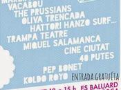 Fiesta Radio3 Palma Mallorca: L.A, Beach Beach, Nadie, Marzipan Man...