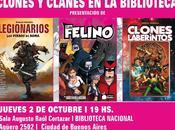 CLONES CLANES: Presentación libros historietas