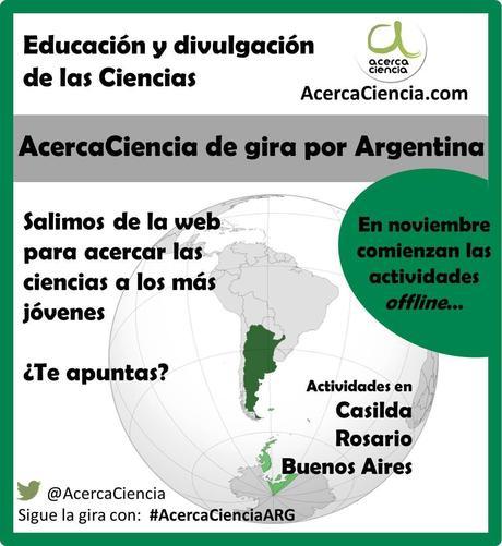 AcercaCiencia de gira por Argentina