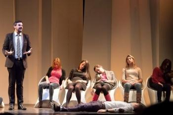 Sanpol reestrena el show de hipnosis a la carta de Jorge Astyaro