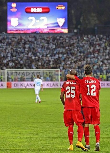 Crónica HNK Rijeka 2 Vs Sevilla FC 2