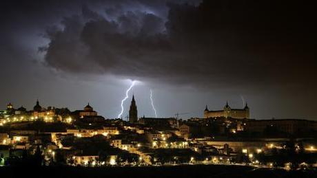 Rayos y Centellas sobre Toledo