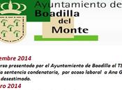 TSJM ratifica Garrido sufrío acoso laboral Ayuntamiento Boadilla Monte