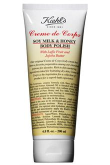 Exfoliante corporal de leche de soja y miel Creme de Corps - Exfoliantes corporales