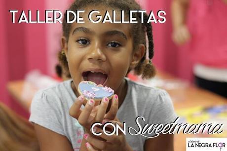 Taller infantil de decoración de galletas con Sweetmama.