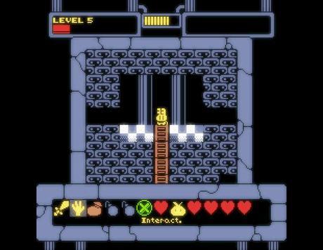 Creepy Castle se salva por los pelos y consigue el mínimo necesario para sacar adelante este interesante RPG de gráficos 'spectrumeros'