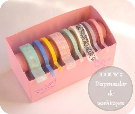 DIY: Dispensador de washitape