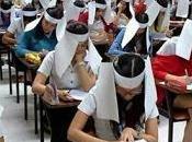 Técnica tailandesa para evitar copias exámenes