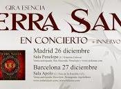 Tierra Santa actuarán diciembre Madrid Barcelona