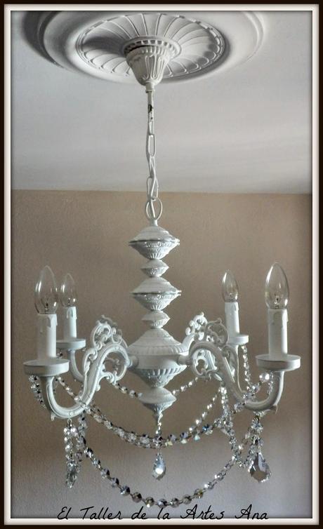 Diy l mpara chandelier paperblog - Lamparas terraza ...