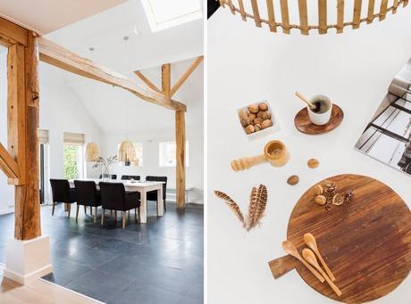 Una casa nórdica muy bonita y muy acogedora!