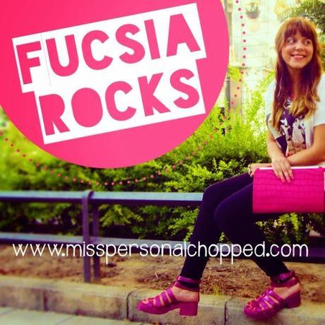 LOOK: Fucsia Rocks!