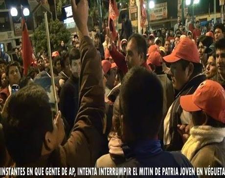 En Huaura: AGREDEN A SIMPATIZANTES DE FUERZA REGIONAL Y PATRIA JOVEN…