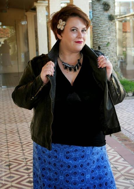 Maxi falda + chaqueta