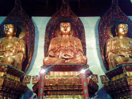 Budas. Templo de Jade Shanghai