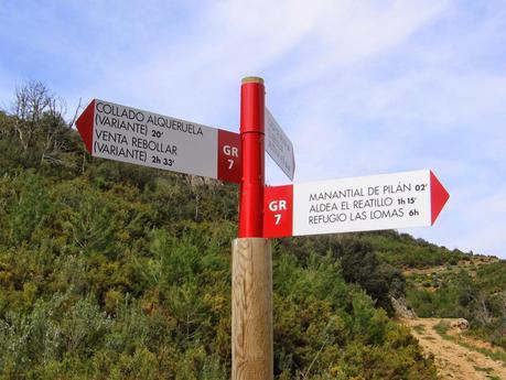Senderos de Gran Recorrido en España